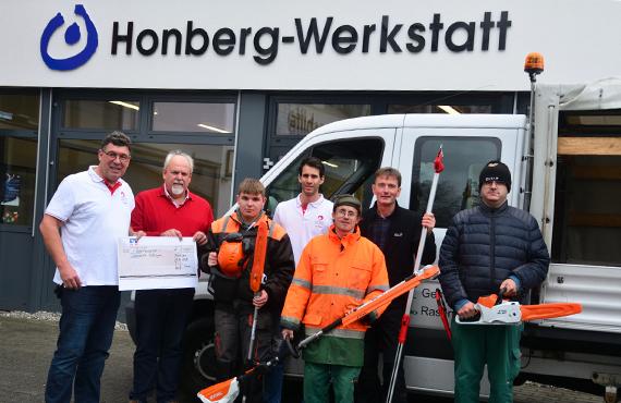 Übergabe Hornberg Werkstatt