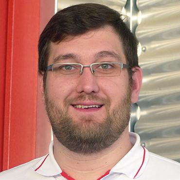 Neuer Mitarbeiter Thomas Beyer